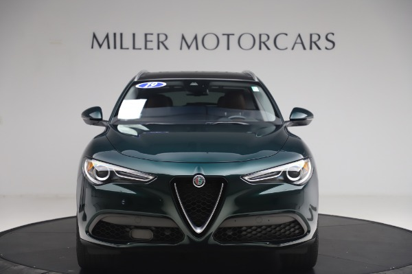 Used 2019 Alfa Romeo Stelvio Ti Lusso for sale Sold at Alfa Romeo of Westport in Westport CT 06880 12