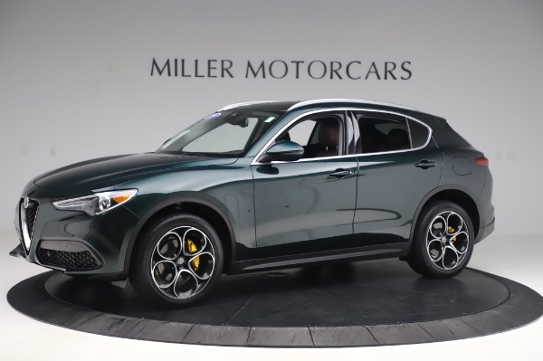 Used 2019 Alfa Romeo Stelvio Ti Lusso for sale Sold at Alfa Romeo of Westport in Westport CT 06880 2
