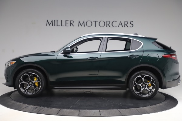 Used 2019 Alfa Romeo Stelvio Ti Lusso for sale Sold at Alfa Romeo of Westport in Westport CT 06880 3