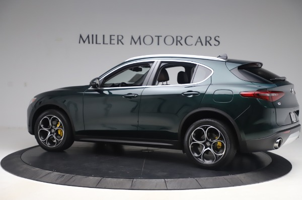 Used 2019 Alfa Romeo Stelvio Ti Lusso for sale Sold at Alfa Romeo of Westport in Westport CT 06880 4