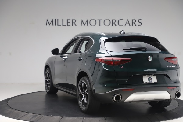 Used 2019 Alfa Romeo Stelvio Ti Lusso for sale Sold at Alfa Romeo of Westport in Westport CT 06880 5