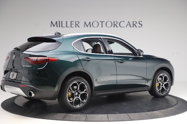 Used 2019 Alfa Romeo Stelvio Ti Lusso for sale Sold at Alfa Romeo of Westport in Westport CT 06880 7