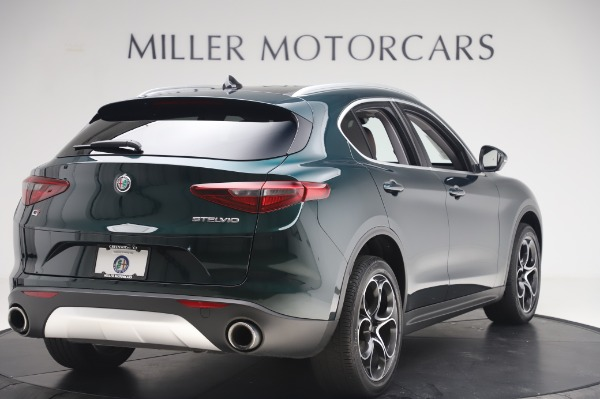Used 2019 Alfa Romeo Stelvio Ti Lusso for sale Sold at Alfa Romeo of Westport in Westport CT 06880 8