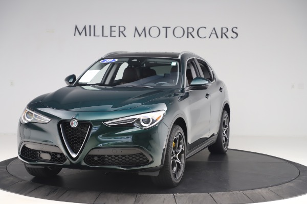 Used 2019 Alfa Romeo Stelvio Ti Lusso for sale Sold at Alfa Romeo of Westport in Westport CT 06880 1