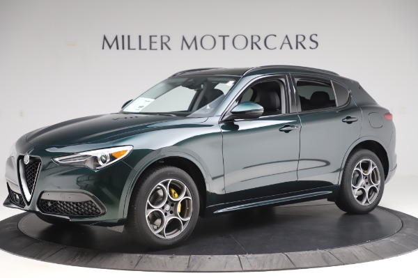 New 2020 Alfa Romeo Stelvio Sport Q4 for sale $49,995 at Alfa Romeo of Westport in Westport CT 06880 2