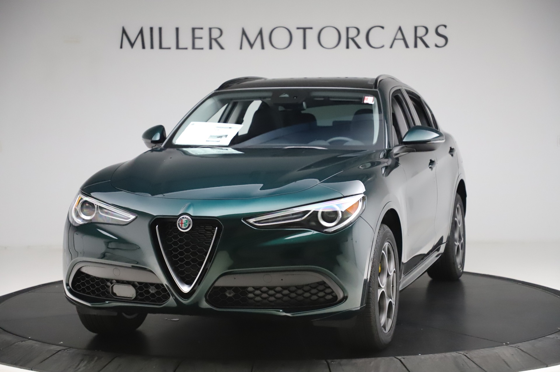 New 2020 Alfa Romeo Stelvio Sport Q4 for sale $49,995 at Alfa Romeo of Westport in Westport CT 06880 1