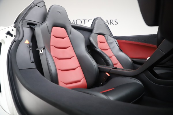 Used 2016 McLaren 650S Spider for sale Sold at Alfa Romeo of Westport in Westport CT 06880 23