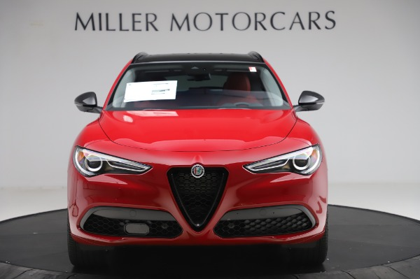New 2020 Alfa Romeo Stelvio Sport Q4 for sale Sold at Alfa Romeo of Westport in Westport CT 06880 12