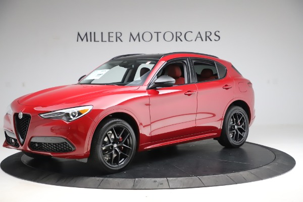 New 2020 Alfa Romeo Stelvio Sport Q4 for sale Sold at Alfa Romeo of Westport in Westport CT 06880 2