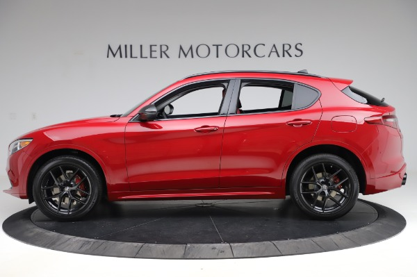 New 2020 Alfa Romeo Stelvio Sport Q4 for sale Sold at Alfa Romeo of Westport in Westport CT 06880 3