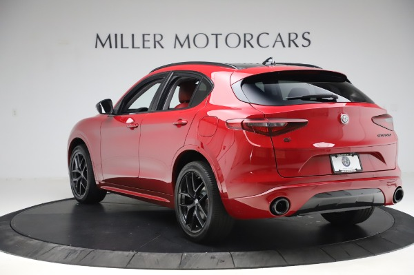New 2020 Alfa Romeo Stelvio Sport Q4 for sale Sold at Alfa Romeo of Westport in Westport CT 06880 5
