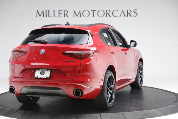New 2020 Alfa Romeo Stelvio Sport Q4 for sale Sold at Alfa Romeo of Westport in Westport CT 06880 7