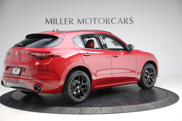 New 2020 Alfa Romeo Stelvio Sport Q4 for sale Sold at Alfa Romeo of Westport in Westport CT 06880 8