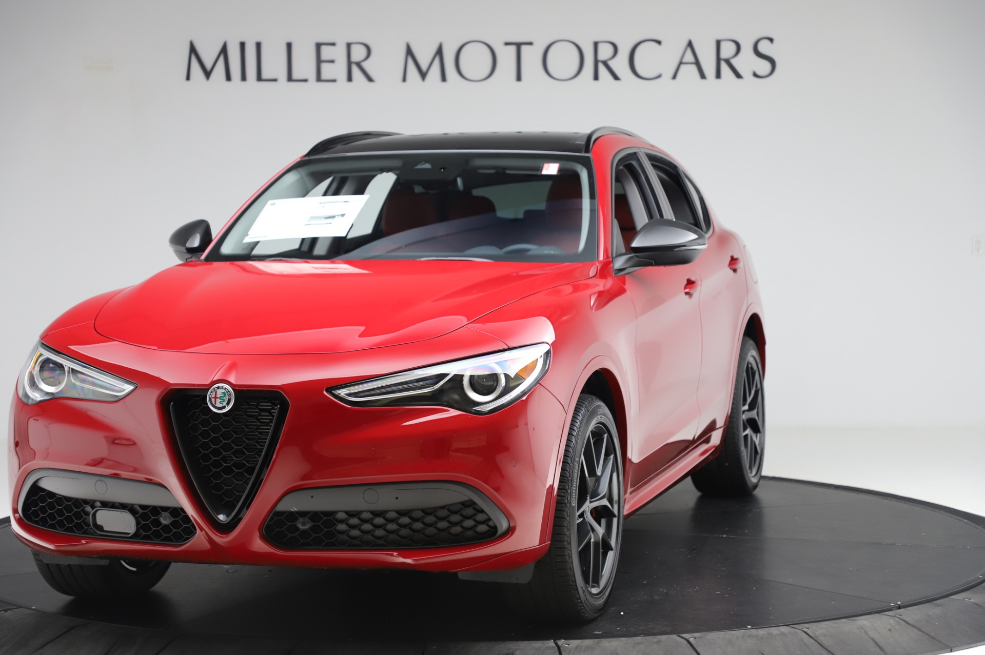 New 2020 Alfa Romeo Stelvio Sport Q4 for sale Sold at Alfa Romeo of Westport in Westport CT 06880 1