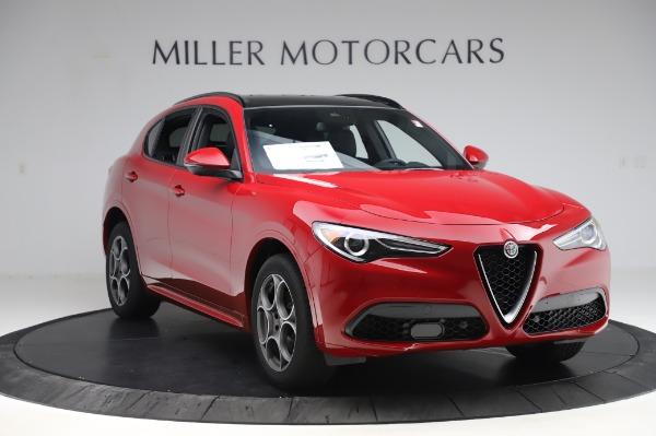 New 2020 Alfa Romeo Stelvio Sport Q4 for sale $50,645 at Alfa Romeo of Westport in Westport CT 06880 11