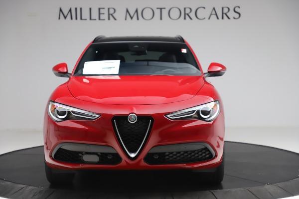 New 2020 Alfa Romeo Stelvio Sport Q4 for sale $45,645 at Alfa Romeo of Westport in Westport CT 06880 12