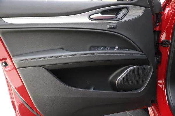 New 2020 Alfa Romeo Stelvio Sport Q4 for sale $45,645 at Alfa Romeo of Westport in Westport CT 06880 17