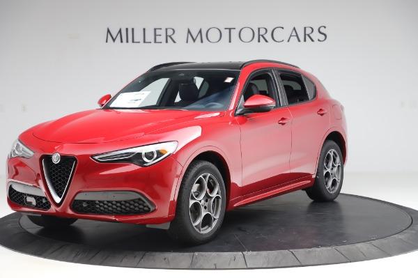 New 2020 Alfa Romeo Stelvio Sport Q4 for sale $50,645 at Alfa Romeo of Westport in Westport CT 06880 2