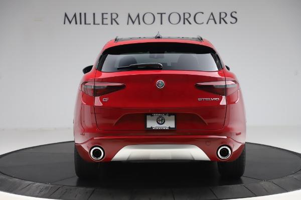 New 2020 Alfa Romeo Stelvio Sport Q4 for sale $45,645 at Alfa Romeo of Westport in Westport CT 06880 6