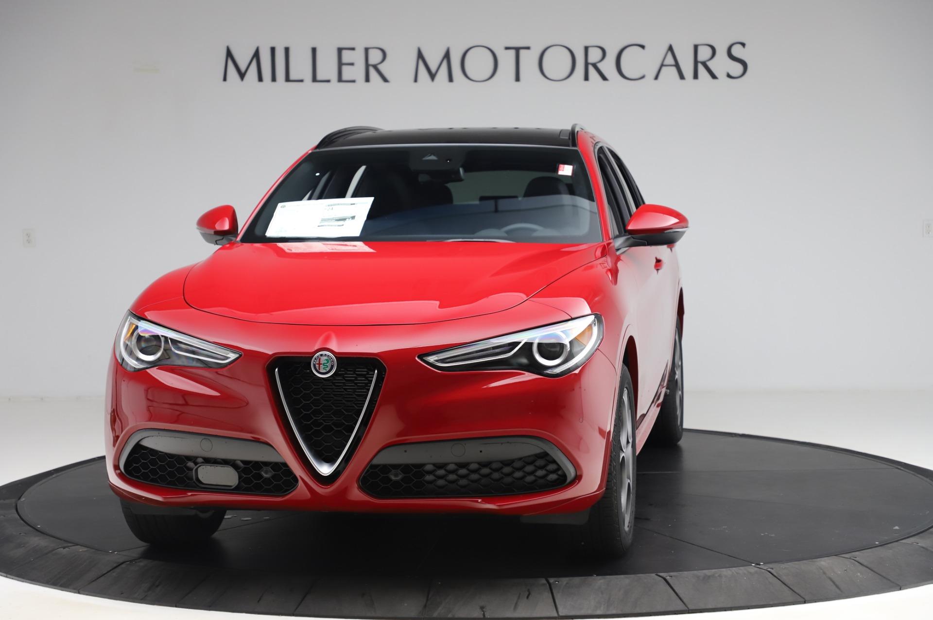 New 2020 Alfa Romeo Stelvio Sport Q4 for sale $50,645 at Alfa Romeo of Westport in Westport CT 06880 1