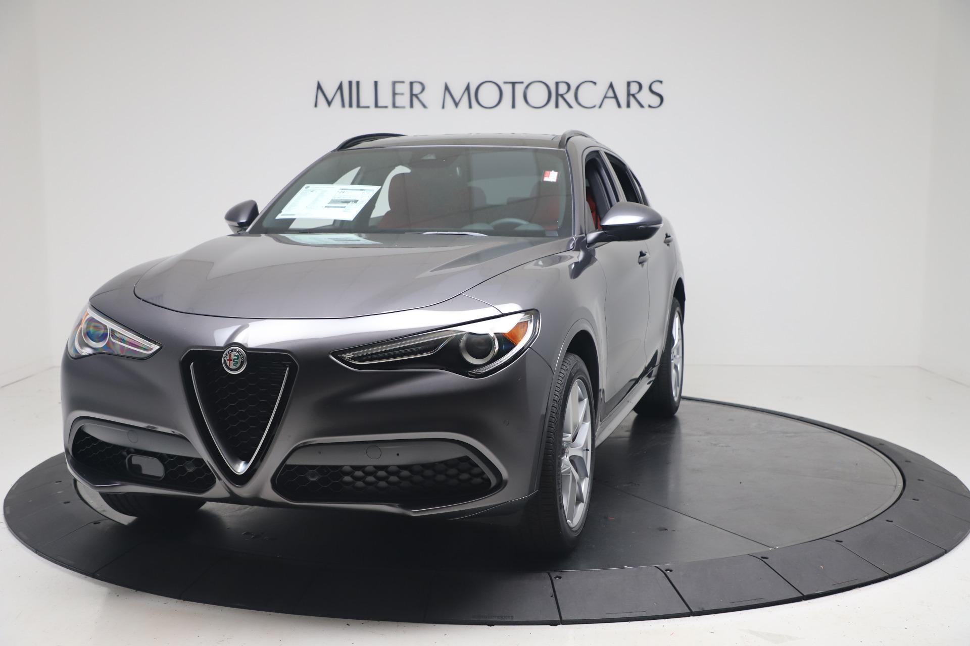 New 2020 Alfa Romeo Stelvio Ti Sport Q4 for sale $56,145 at Alfa Romeo of Westport in Westport CT 06880 1