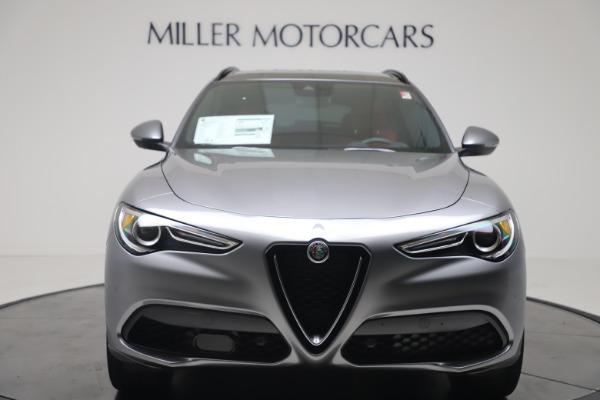 New 2020 Alfa Romeo Stelvio Ti Sport Q4 for sale $53,545 at Alfa Romeo of Westport in Westport CT 06880 12