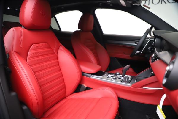 New 2020 Alfa Romeo Stelvio Ti Sport Q4 for sale $53,545 at Alfa Romeo of Westport in Westport CT 06880 22