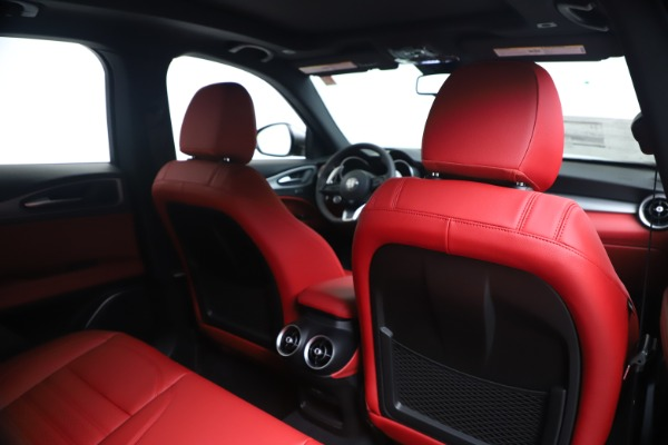 New 2020 Alfa Romeo Stelvio Ti Sport Q4 for sale $53,545 at Alfa Romeo of Westport in Westport CT 06880 28