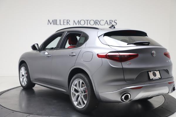New 2020 Alfa Romeo Stelvio Ti Sport Q4 for sale $53,545 at Alfa Romeo of Westport in Westport CT 06880 5
