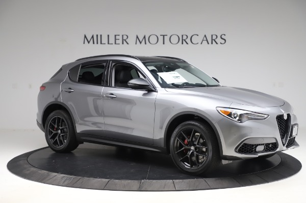 New 2020 Alfa Romeo Stelvio for sale $50,145 at Alfa Romeo of Westport in Westport CT 06880 10