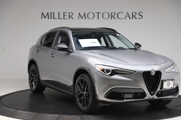 New 2020 Alfa Romeo Stelvio for sale $50,145 at Alfa Romeo of Westport in Westport CT 06880 11