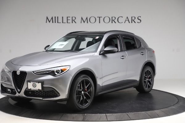 New 2020 Alfa Romeo Stelvio for sale $50,145 at Alfa Romeo of Westport in Westport CT 06880 2