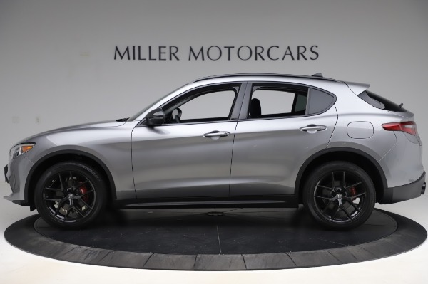 New 2020 Alfa Romeo Stelvio for sale $50,145 at Alfa Romeo of Westport in Westport CT 06880 3