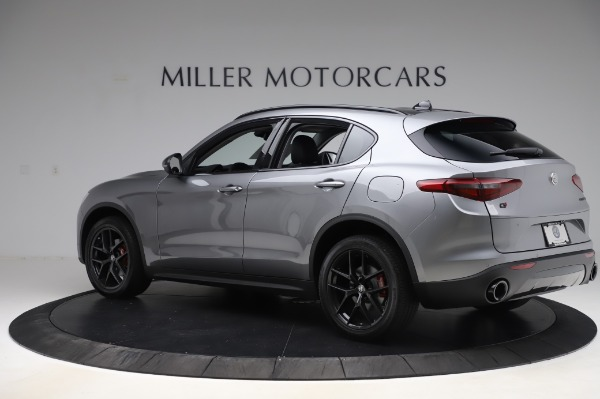 New 2020 Alfa Romeo Stelvio for sale $50,145 at Alfa Romeo of Westport in Westport CT 06880 4