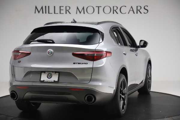 New 2020 Alfa Romeo Stelvio for sale $50,145 at Alfa Romeo of Westport in Westport CT 06880 7