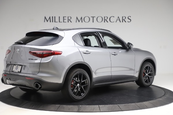 New 2020 Alfa Romeo Stelvio for sale $50,145 at Alfa Romeo of Westport in Westport CT 06880 8
