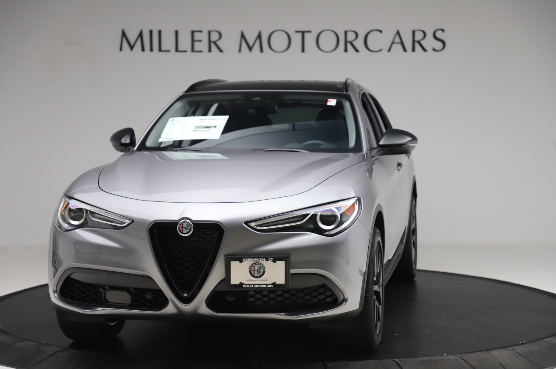 New 2020 Alfa Romeo Stelvio for sale $50,145 at Alfa Romeo of Westport in Westport CT 06880 1