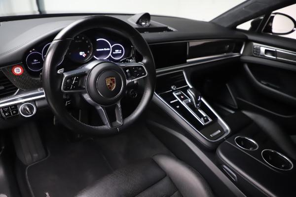 Used 2017 Porsche Panamera Turbo for sale $95,900 at Alfa Romeo of Westport in Westport CT 06880 13