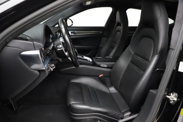 Used 2017 Porsche Panamera Turbo for sale $95,900 at Alfa Romeo of Westport in Westport CT 06880 14