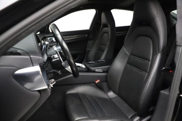 Used 2017 Porsche Panamera Turbo for sale $95,900 at Alfa Romeo of Westport in Westport CT 06880 15