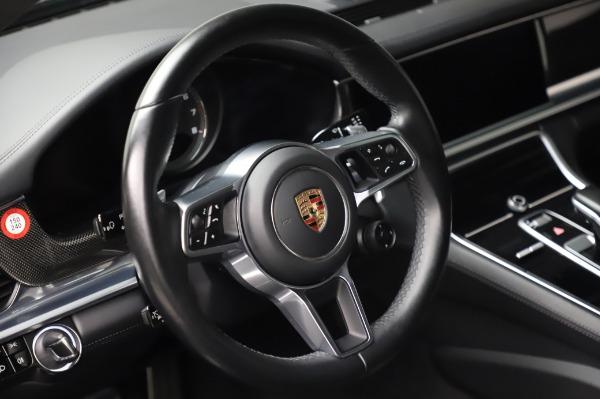 Used 2017 Porsche Panamera Turbo for sale $95,900 at Alfa Romeo of Westport in Westport CT 06880 16