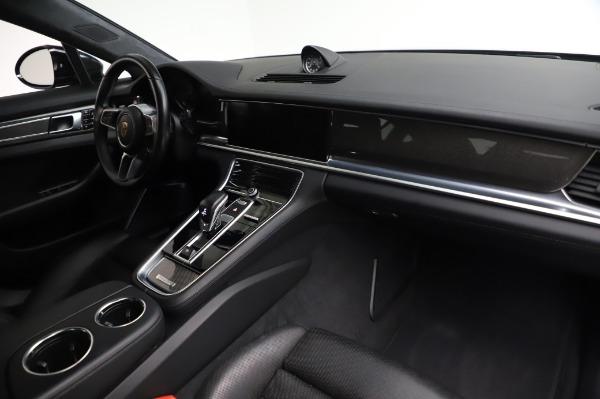 Used 2017 Porsche Panamera Turbo for sale $95,900 at Alfa Romeo of Westport in Westport CT 06880 19