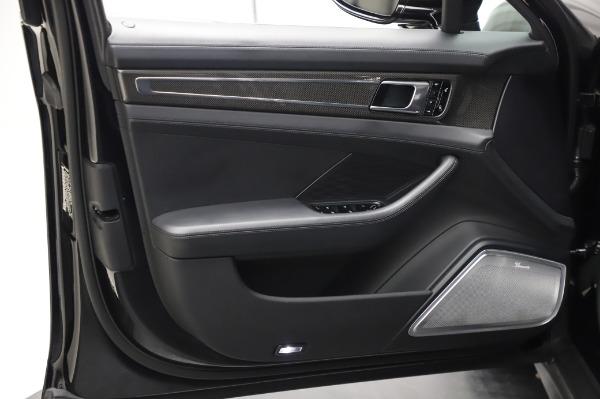 Used 2017 Porsche Panamera Turbo for sale $95,900 at Alfa Romeo of Westport in Westport CT 06880 23