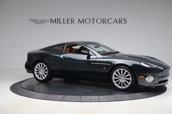 Used 2003 Aston Martin V12 Vanquish Coupe for sale $79,900 at Alfa Romeo of Westport in Westport CT 06880 10