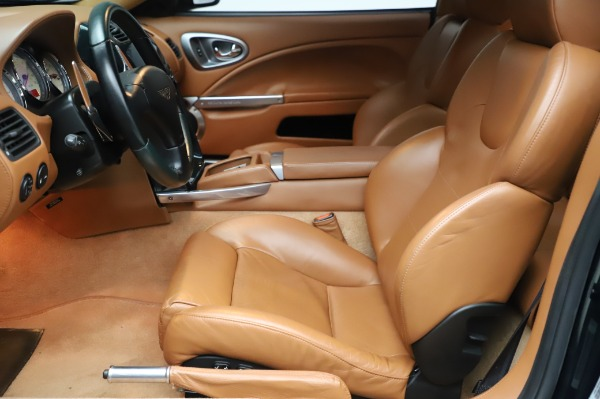 Used 2003 Aston Martin V12 Vanquish Coupe for sale $79,900 at Alfa Romeo of Westport in Westport CT 06880 14