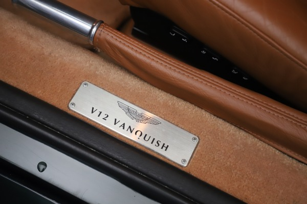 Used 2003 Aston Martin V12 Vanquish Coupe for sale $79,900 at Alfa Romeo of Westport in Westport CT 06880 16