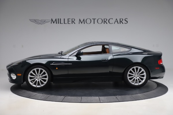 Used 2003 Aston Martin V12 Vanquish Coupe for sale $79,900 at Alfa Romeo of Westport in Westport CT 06880 2