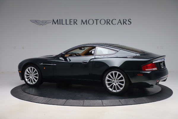 Used 2003 Aston Martin V12 Vanquish Coupe for sale $79,900 at Alfa Romeo of Westport in Westport CT 06880 3