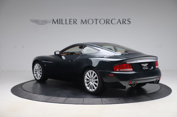 Used 2003 Aston Martin V12 Vanquish Coupe for sale $79,900 at Alfa Romeo of Westport in Westport CT 06880 4