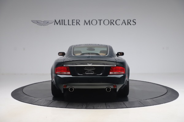Used 2003 Aston Martin V12 Vanquish Coupe for sale $79,900 at Alfa Romeo of Westport in Westport CT 06880 5